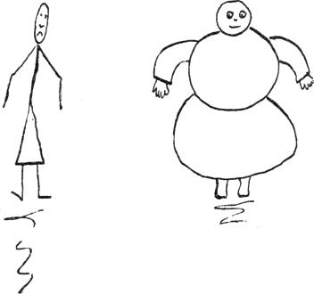 Judy thin and fat